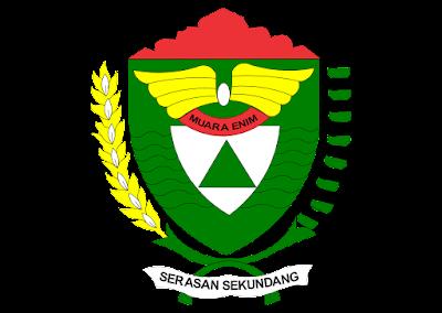 Kabupaten muara enim Logo Vector