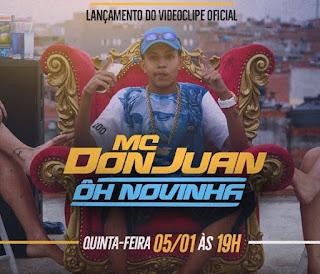 Baixar Musica Ôh Novinha – MC Don Juan MP3 Grátis
