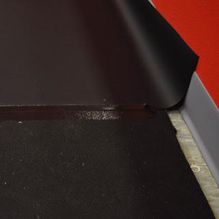 Greatmatas Plyometric Rubber Flooring under Rosco Adagio Marley Dance Floor