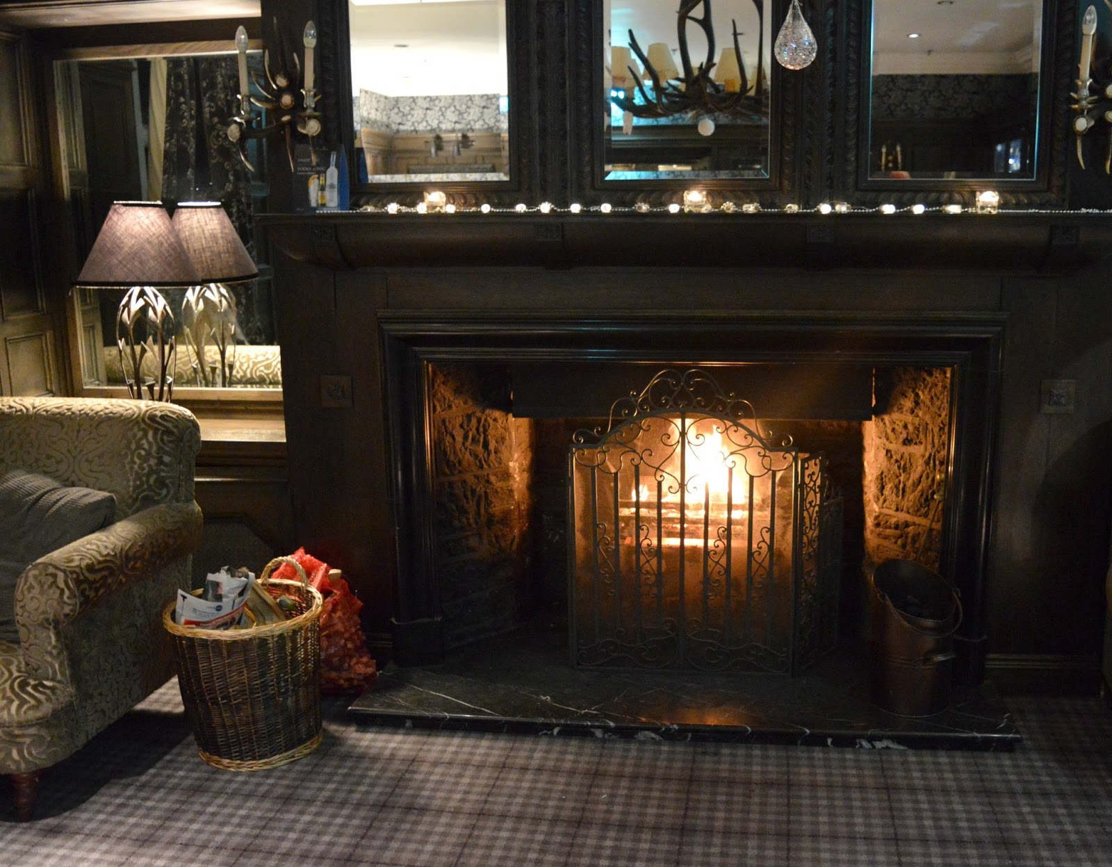 Christmas at Slaley Hall, Northumberland - The Whisky Lounge