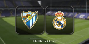 Cuplikan Gol Prediksi Bola - Malaga vs Real Madrid - Highlight
