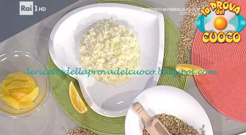 Risotto pollo arancia e mascarpone ricetta Barzetti da Prova del Cuoco