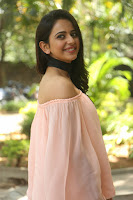 Rakul Preet Singh in lovely Pink Crop Top and Black Trousers at Jaya Janaki Nayaka success meet 040.JPG