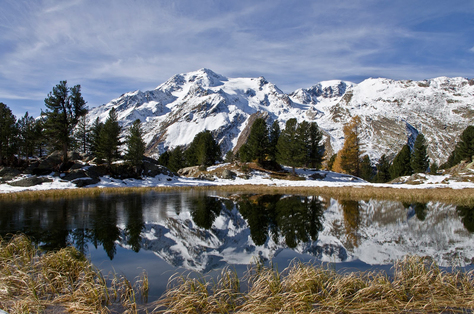 4 passi in val di sole neve d ottobre al lago della lama for Planimetrie della cabina del lago