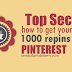 Buy 1000 Pinterest Repins [Guaranteed Service]