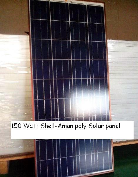 Shell Aman Solar Panels