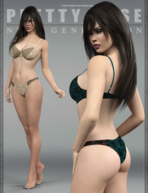 Pretty Base Next Generation for Genesis 3 Female