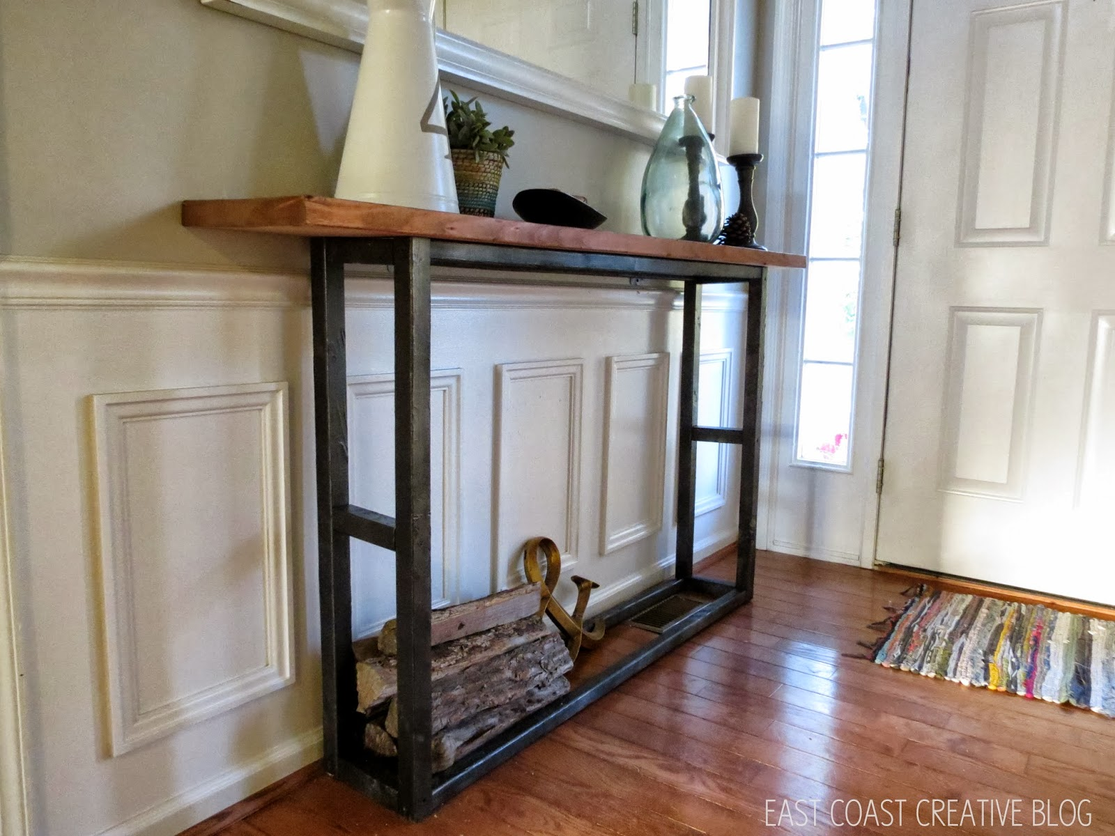 DIY Console Table Pottery Barn Knock f East Coast Creative