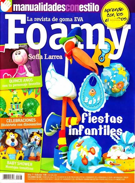 La revista de goma EVA Foamy Nro. 180: Fiestas infantiles