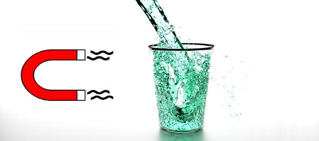 Água magnetizada possui algum benefício? - Saber Atualizado