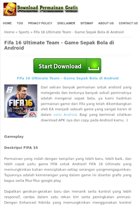 Cara Download game APK