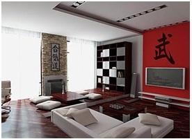 Contoh ruang keluarga gaya minimalis