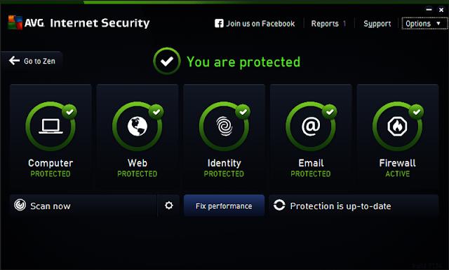 2017 AVG Internet Security