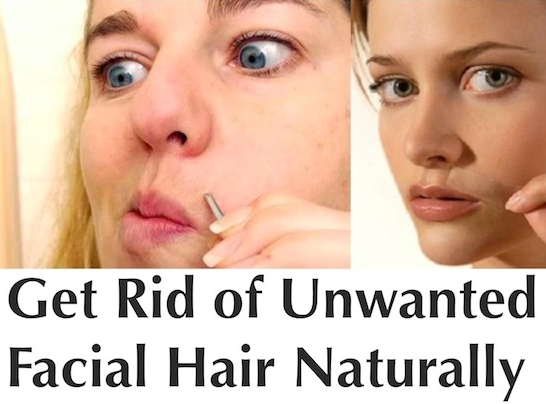 Say Goodbye To Unwanted Facial Hair Through These Homemade Tricks