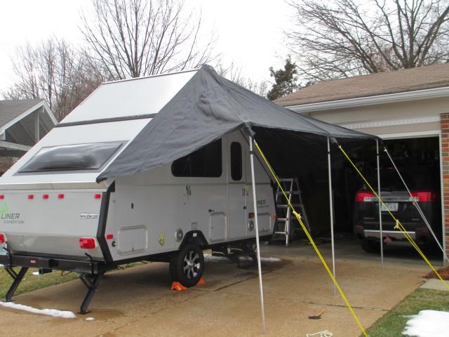 Mariah Awning for Aliner trailer | A frame camper, Aliner ...
