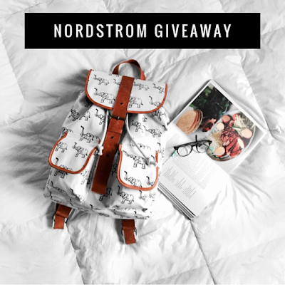 Enter the Nordstrom Insta Giveaway. Ends 3/14. Open WW