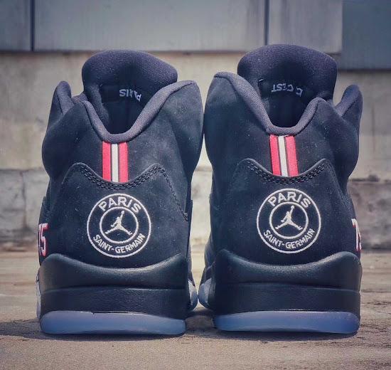 ea25f50267d Nike Air Jordan 5 Paris Saint-Germain Shoes Leaked - Footy Headlines