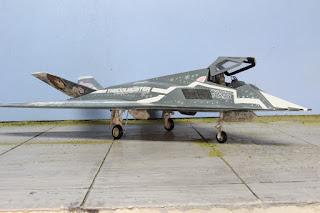 F-117 Idolm@ster 1/48.