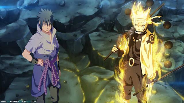 Naruto And Sasuke Wallpaper Engine With Particles