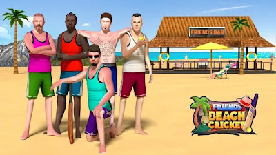 Friends Beach Cricket For iOS