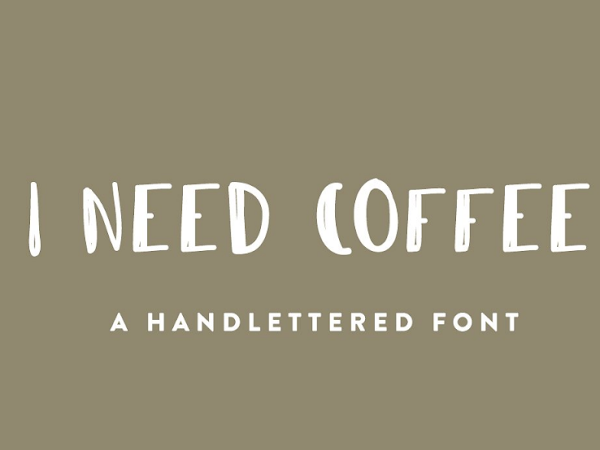 Download I Need Coffee Font Free