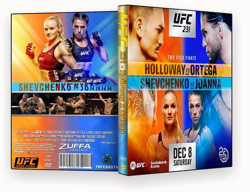 CAPA DVD – UFC 231 – ISO