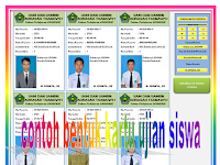 Contoh Aplikasi pembuatan Kartu Ujian Siswa SD/MI/SMP/MTs
