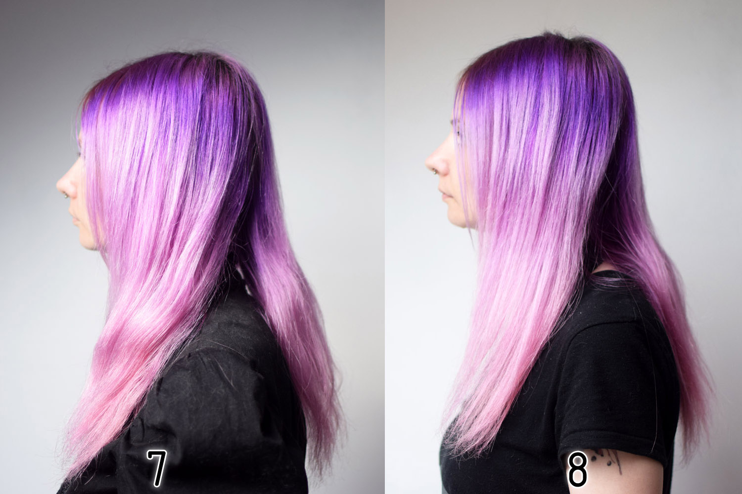 tag astuces cheveux coloration coloration semi permanente coloration vegan conseils dure electric lava galaxy hair hair manic panic new rose - Coloration Violet Permanente