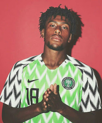 GQ ranks Super Eagles' Jersey Best World Cup 2018 Kit