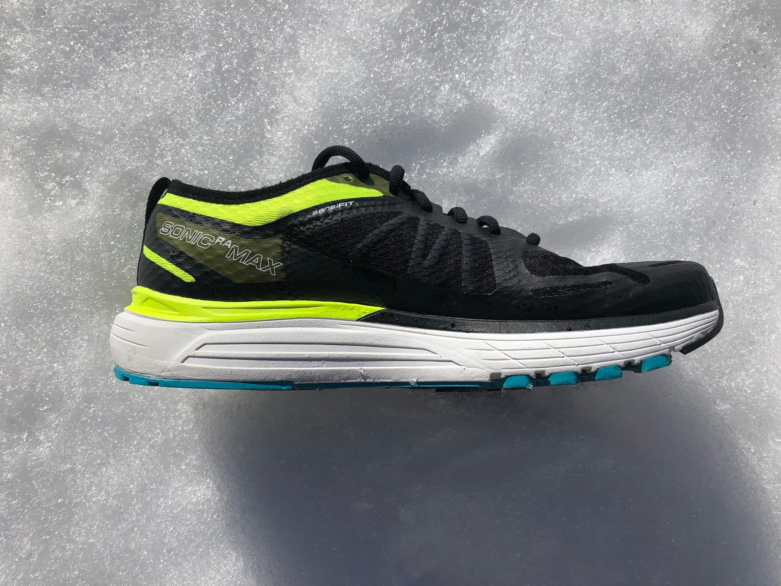 The geometry of the midsole includes 2mm of additional heel foam when  compared to the Sonic RA making the Max a 10mm drop shoe. Max has a  slightly broader ... 4eb63ea02