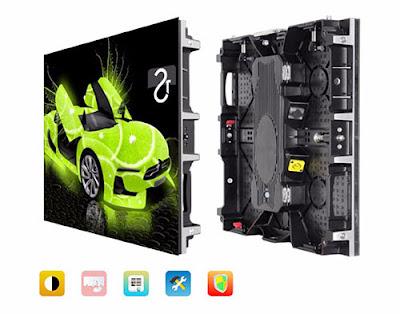 Lắp đặt màn hình led p4 cabinet tại Thái Nguyên