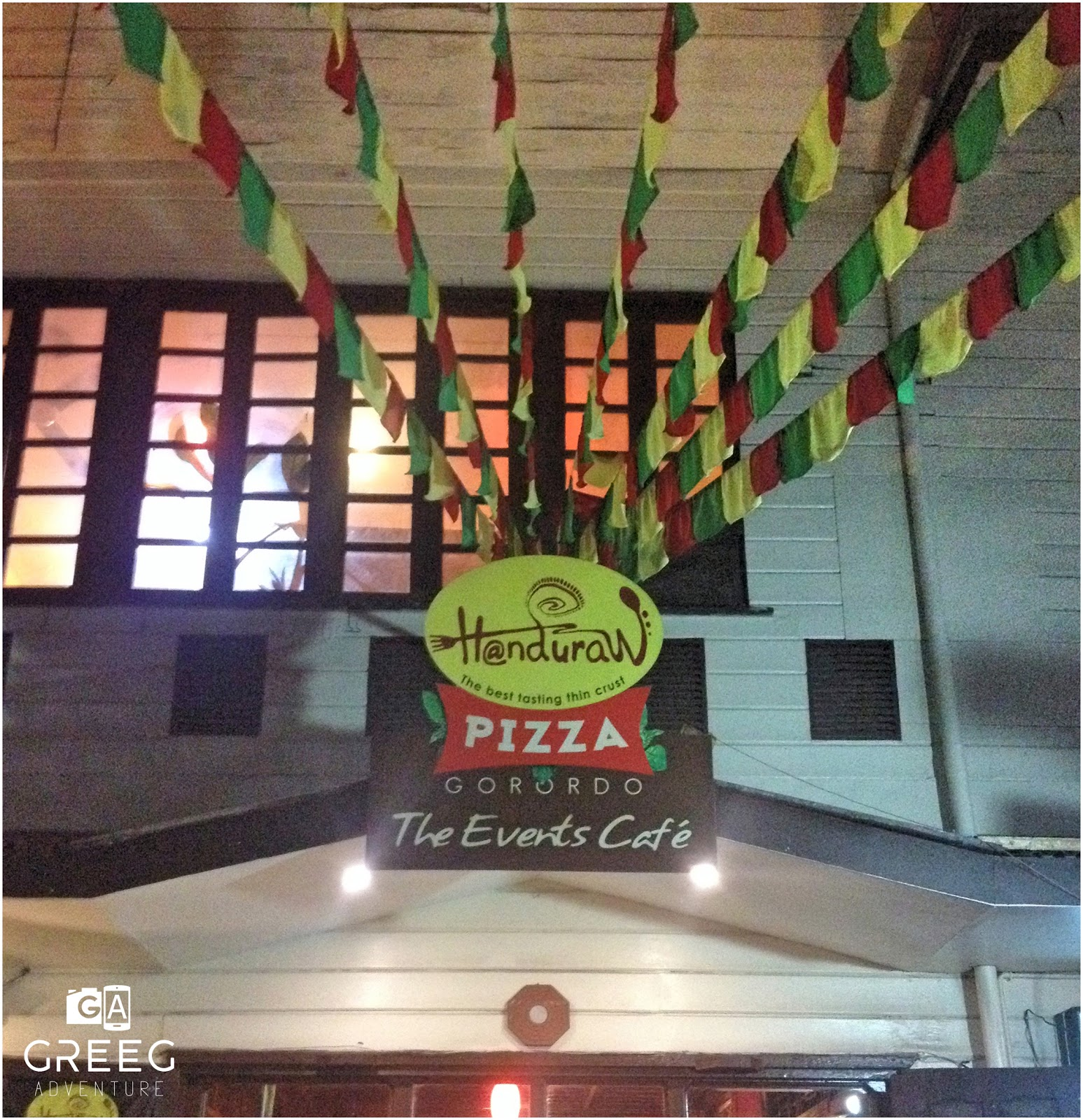 another good place to hang out with family and friends here in cebu is handuraw pizza there are band schedules every night that will keep the night alive