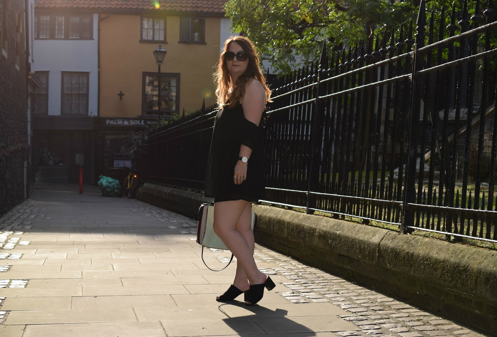 Date night outfit LBD, Tobi.com