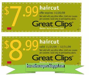 great clips deals