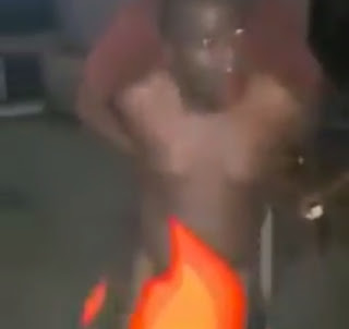 2 - DRAMA!! Senator beaten like a drum and stripped naked after he was busted having SEX someone's wife (VIDEO)