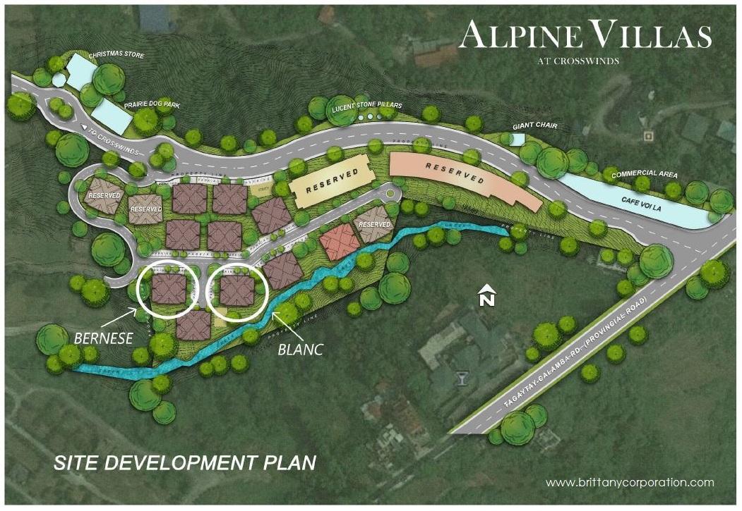 Alpine Villas at Crosswinds - One Bedroom Unit| Crown Asia Prime Condominium for Sale in [location]