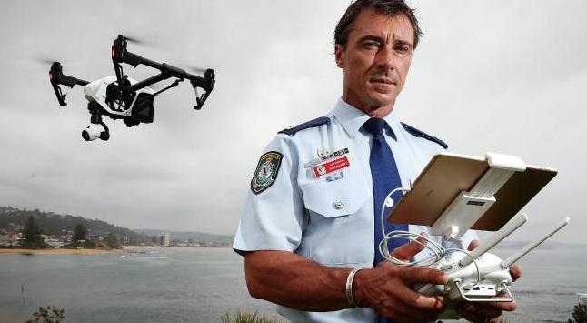 Περιπολίες της ΕΛ.ΑΣ. από αέρος και με τη χρήση drones