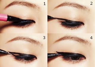 Cara Memakai Eyeliner Pensil Untuk Mata Sipit