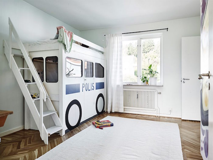 ideas para renovar tu casa-dormitorio infantil con cama autobús