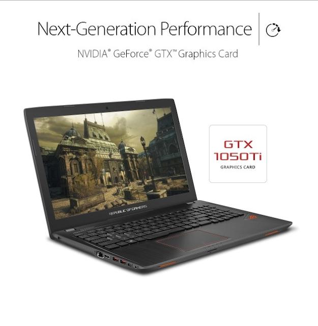 Gaming laptop Asus ROG Strix GL753 review