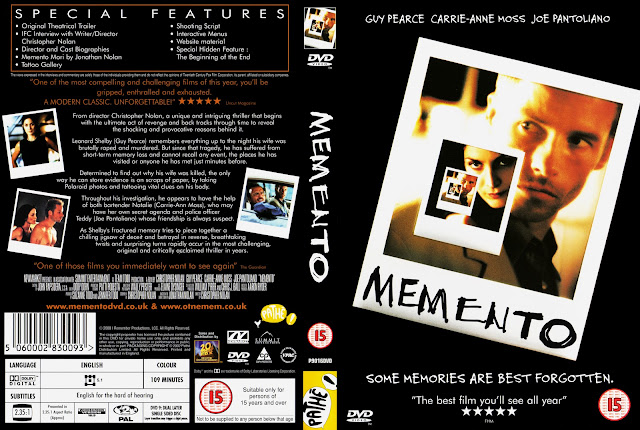 Memento DVD Cover