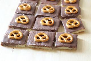 sablés chocolat bretzel