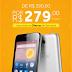 Smartphone Alcatel por apenas R$ 279,00 na Karine Eletro Informática