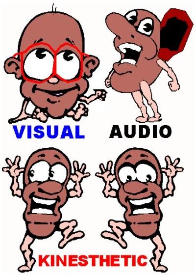 learning styles cartoon -#main