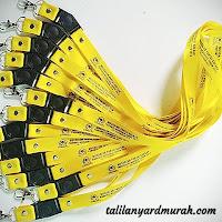 Jenis tali lanyard yang sering digunakan para karyawan perusahaan