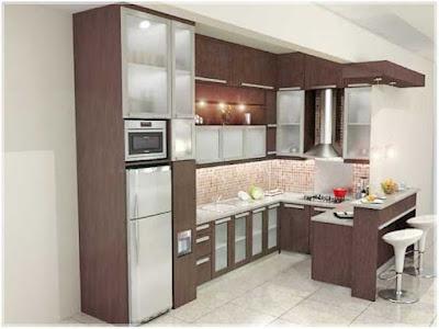 tips desain dapur minimalis ukuran 2x3