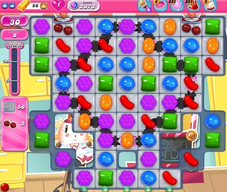 Candy Crush Saga level 2373