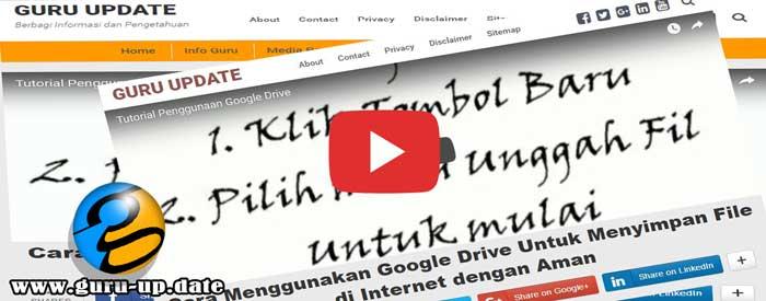 Cara Menampilkan Video di Atas Judul Postingan dan di Bawah Header Blog