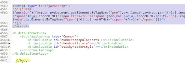 Cara Mudah Membuat Kotak Script di Postingan Blog