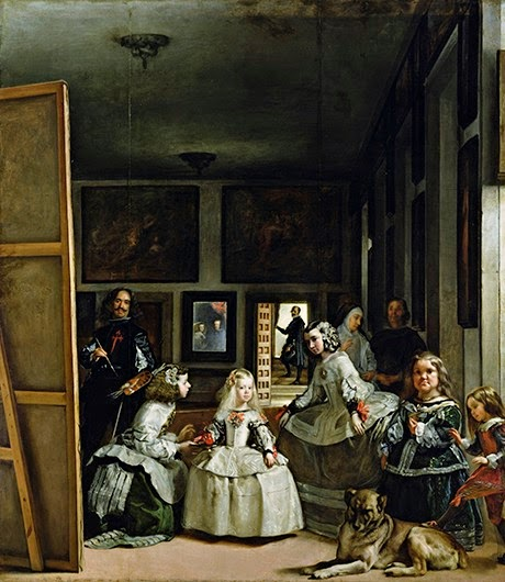 10 Out Of The Most Beautiful Paintings Of All Time - Las Meninas by Velázquez (1656)